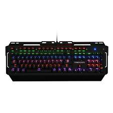 NEW Ultimate Stealth Mechanical LED Backlit Gaming Keyboard w/ Anti-Ghosting