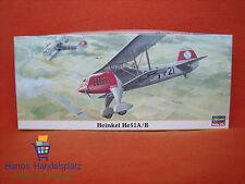 Hasegawa ® 00083 Heinkel He 51 A/B 1:72