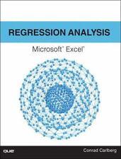 REGRESSION ANALYSIS MICROSOFT EXCEL - CARLBERG, CONRAD - NEW PAPERBACK BOOK