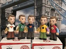 Funko The Big Bang Theory Mystery Minis Sheldon Set Of 5 New W/Boxes