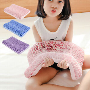 Washable Baby Bed Pillows Gel Pectin TPE Non-Pressure Honeycomb Cervical Pillow