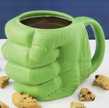 Marvel HULK FIST Shaped 3D MUG Green Ceramic