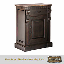 Sideboard Buffet Cabinet Storage Bedroom Living Modern Iron Rustic Wood
