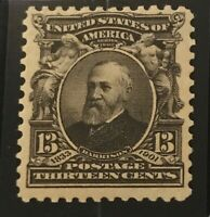 US STAMPS: #308 MNH SF/XF 13-Cent Stamp