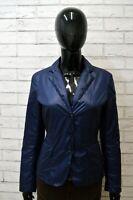 Giacca Blu Donna U . S. POLO ASSN Jacket Woman Taglia Size 42 Blazer Bottoni