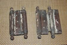 Large Antique Door Hinges Pair Architectural Door Hinges