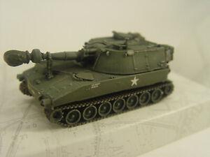 US M 109 Panzerhaubitze bahnverladen - Artitec 1:87 Fertigmodell  6870150  #E