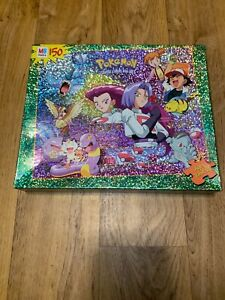 UNOPENED Pokemon Jigsaw Puzzle SUPER RARE Hasbro/Milton Bradley 12.5x15 Vintage