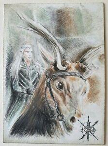 Cryptozoic The Hobbit BOTFA Sketch Card #11 Thranduil
