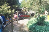 PHOTO  1994 DOBWALLS THE MINIATURE RAILWAY COMING UP TO THE TUNNEL