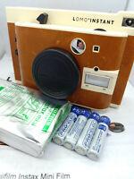 Lomography Lomo'Instant Mini Sanremo Edition Instax Camera - Brown Retro Lomo