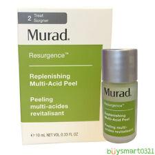 New Murad Resurgence Replenishing Multi-Acid Peel Travel 10ml/.33oz Free Ship