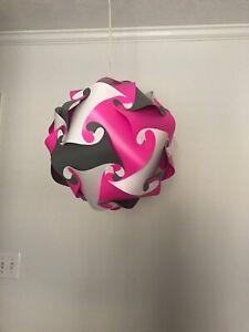 Pendant Globe Lighting Teen Decor Jigsaw Puzzle Infinity Light Modern