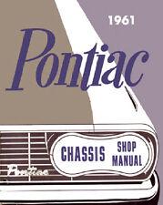 PONTIAC 1961 CHASSIS & SHOP MANUAL