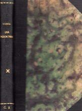 UNA PECCATRICE GIOVANNI VERGA 1901 NICCOLO' GIANNOTTA (SA134)