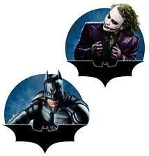 THE DARK KNIGHT DC Comics Superhero BATMAN and JOKER Polyresin MAGNET 2 Pcs New