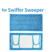 Reusable Dry Wet Mop Cloth Microfiber Cleaning Pad for Swiffer Sweeper Flat Mop