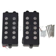 2pcs 5 String Bass Guitar Pickup Humbucker For M Bass Replacement