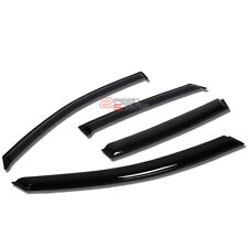 FOR 02-06 FORD FOCUS 4/5DR SMOKED OUTSIDE MOUNT WINDOW VISOR WIND RAIN DEFLECTOR