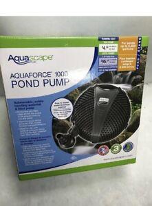 Aquascape AquaForce 1000 Solids Handling Pond Pump 91011
