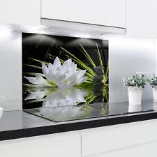 Kitchen Glass Splashback Heat Resistant Toughened Glass 90x70cm