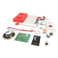 Electronic Vacuum Tube Super Regenerative HX108-2 7 Tube Radio Receiver Set Kit
