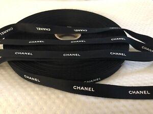 100% Original Chanel Designer Band Ribbon Geschenkband Schleifenband Neu 1 Meter