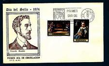SPAIN - SPAGNA - 1974 - Giornata del francobollo. Quadri di E. Rosales e Martin