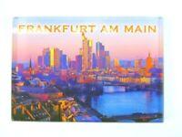 Frankfurt Skyline Acryl Foto Magnet Germany Travel Souvenir,8 cm,NEU