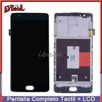 Pantalla Tactil Para OnePlus 3t A3010 3T LCD Digitalizador Reemplazo Con Marco