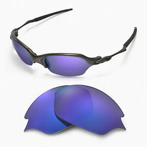 New Walleva Polarized Black Replacement Lenses For Oakley Romeo 2.0 Sunglasses