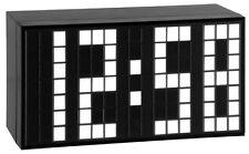 WECKER TIME-BLOCK WEISS TFA 98.1082.02 GROSSE 70 MM ZAHLEN HELL NACHTLICHT