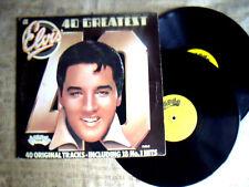 Elvis Presley –   40 Greatest Hits Label: Arcade – ADEP  - doppio  Lp 33