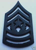 US ARMY RANK E9 COMMAND SGT. MAJOR (SUBDUED) Military Veteran Hat Pin P12758 EE
