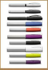 FABER-CASTELL Collection Fountain Pen Basic and Loom Design different nibs