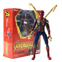 Infinity War Spiderman Action Figure The Avengers Peter Parker Model Toy Marvel