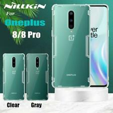 For OnePlus 8 Pro / 8 Case NILLKIN Nature Clear Shockproof Soft Gel TPU Cover