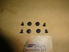 Toshiba Satellite Pro L300 L300D Laptop Screen Bezel Screws & Rubber Covers