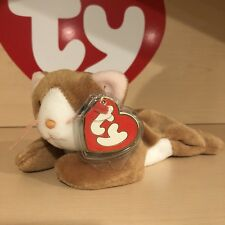 Ty Old Face Nip The Cat 3rd/1st Generation Beanie Baby MWMT MQ!