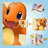 Samsung Galaxy S3 4 5 6 7 8 Edge Plus Note Flip Wallet Case Cover Pokemon S077