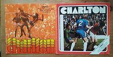 2 x Charlton Athletic vs Leyton Orient 1977/1978/1979 Division Two 77/78/79