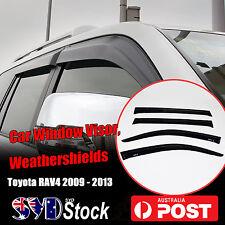Premium Fit  RAV4 09 - 13 Car Vehicle Window Visor Weather Shields Weathershield