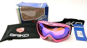 Briko Gunner Plus Maschera Pink Ski Goggles