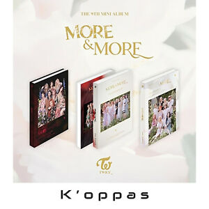 TWICE MORE & MORE 9th Mini Album CD+Pre-Order Benefit+Poster+Photocard+Tracking