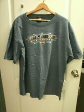Harley-Davidson Mens  BLUE T-Shirt XL