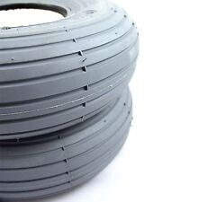 2 x 260x85 3.00-4 Solid Rib Mobility Scooter Tyre 300x4