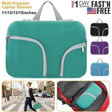 """Portable Notebook Laptop Sleeve Inner Case Cover Bag for 11""""13"""" 15"""" Laptops"""