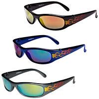 Ladies Womens Eyelevel Nadia Sunglasses Black /& Gold Frame 100/% UV Purple Lenses