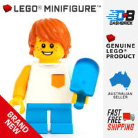 Genuine LEGO Minifigure - Popsicle Boy (Child) (City/Town) - BRAND NEW