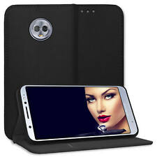 Custodia ecopelle bookstyle per Lenovo / Motorola Moto G6 Plus (5.9'') - nero